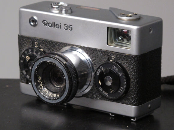Rollei 35 with Collapsible Tessar 40mm f3.5 lens