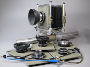 Sinar Monorail System C koch Large Format View Camera with  Symmar 1:5.6/240