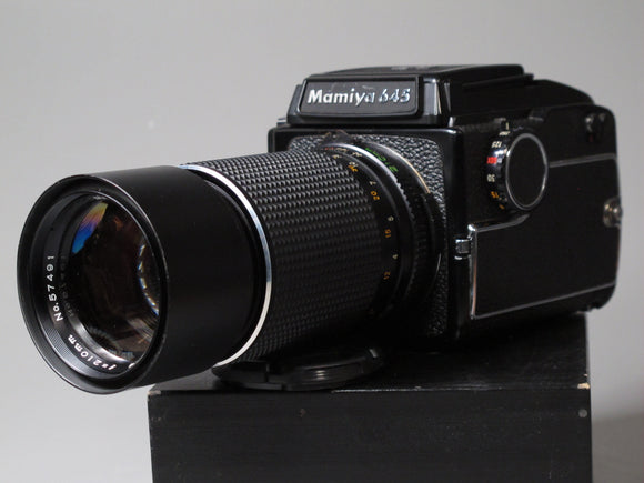 Mamiya M645 Medium Format Camera with 210mm f4 Lens