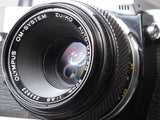 Olympus OM-G 35mm camera with 50mm f3.5 AUTO-MACRO Lens