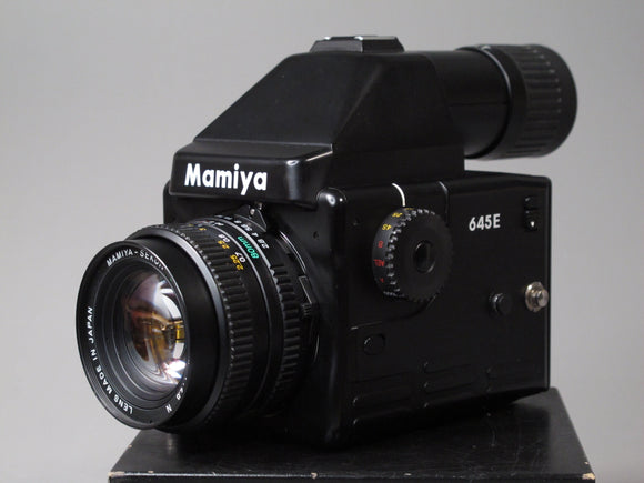 Mamiya 645E Medium Format Camera with 80mm SEKOR-C f2.8 Lens