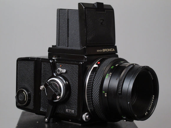 Bronica 645 ETR Medium Format Camera with 75mm f2.8 Lens
