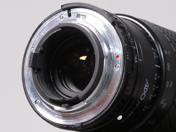 SIGMA APO ZOOM 75-300mm f4.5-5.6 Lens for Nikon