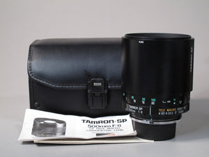 TAMRON-SP 500mm f8 CF TELE MACRO CATADIOPTRIC Lens for Nikon