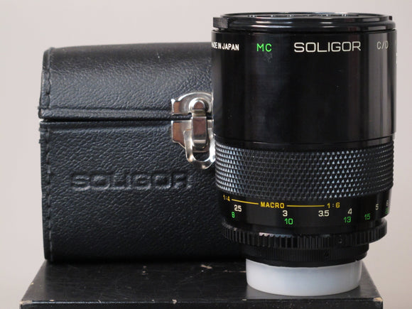 Soligor C/D Mirror Lens 500mm f/8
