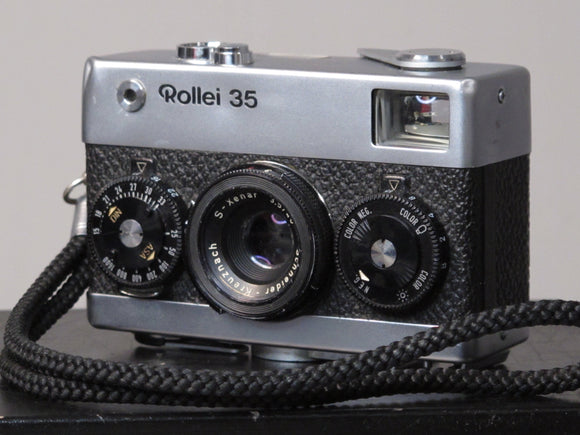 Rollei 35 with Collapsible S-Xenar 40mm f3.5 lens