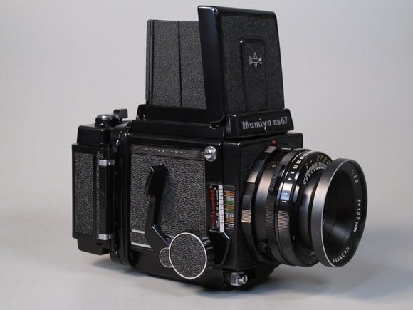 Mamiya RB67 Professional Medium Format Camera with 127mm f3.8 Lens