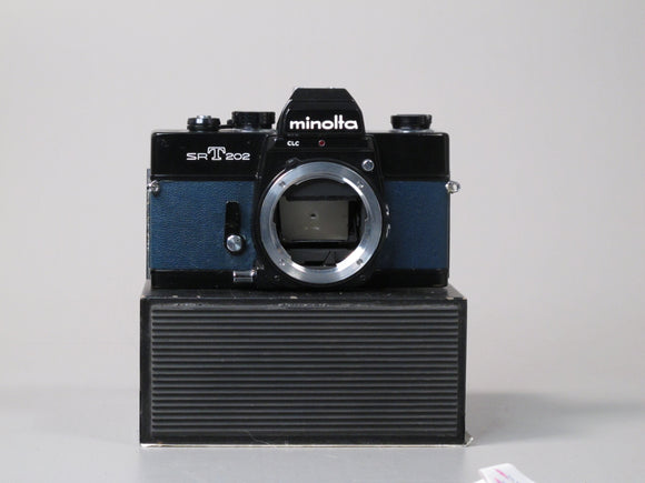 Minolta SRT202 Body in Dark Blue