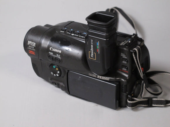 Canon ES2000 8mm Video Camcorder