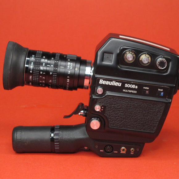 Beaulieu 5008s Multispeed Super 8 Camera with 8-48mm Lens