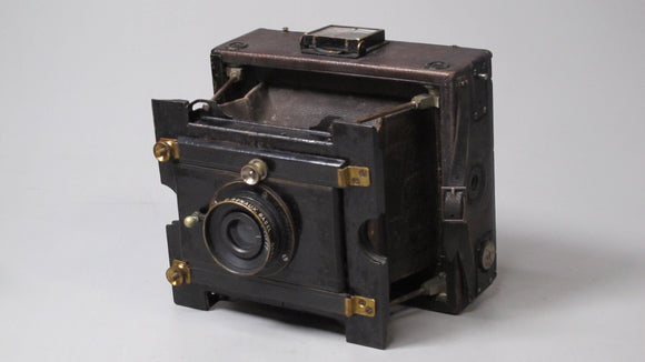 Folding Camera E.Renaux Basel doppel Anastigmat 120 f6.8 Hugo Meyer & Co. Coerlitz