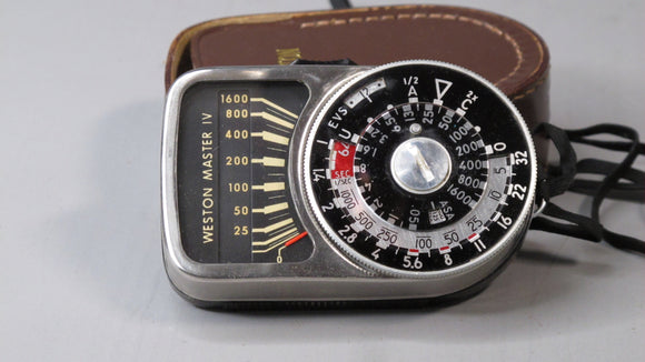 Vintage Weston Light Meter and Sphere w/ case