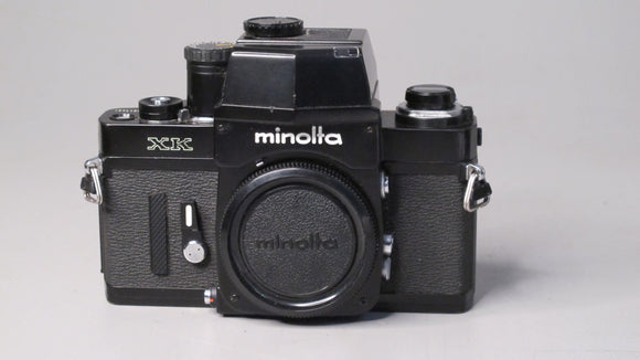 Minolta XK Camera with MD Rokkor-x 35-70mm f3.5 Lens