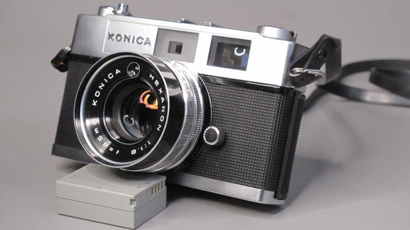 Konica Auto S2 35mm Rangefinder Camera with Hexanon 45mm F1.8 Lens
