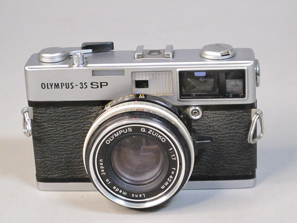 OLYMPUS-35 SP RF CAMERA WITH G.ZUIKO 42MM F1.7 LENS