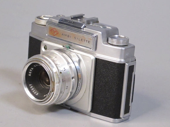 Agfa Ambi Silette Camera with Agfa Color-Solinor 50mm f2.8 Lens