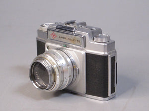 Agfa Ambi Silente Camera with Agfa Color-Solinor 50mm f2.5 Lens