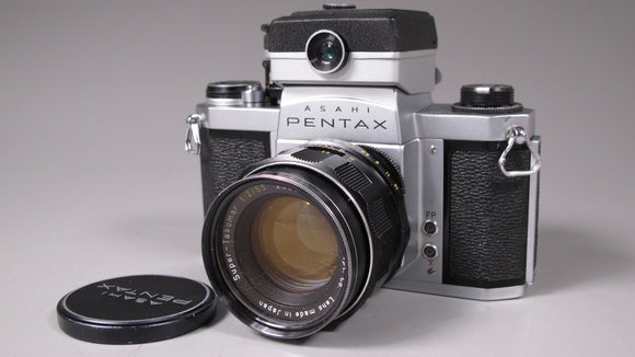 Pentax S1a 35mm Camera with 55mm f2 Lens