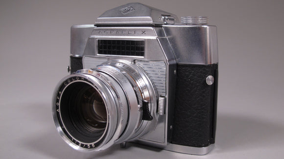 AGFAFLEX 35mm Camera with Agfa Color-Solagon 55mm f2 Lens