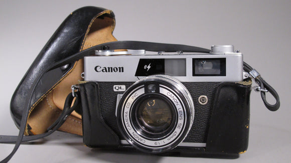 Canonet QL19E 35mm Rangefinder with 45mm f1.9 Lens
