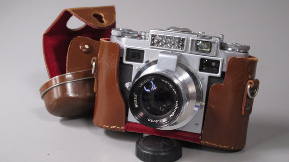 LORDOMAT 35mm Rangefinder with 50mm f1.9 Lens