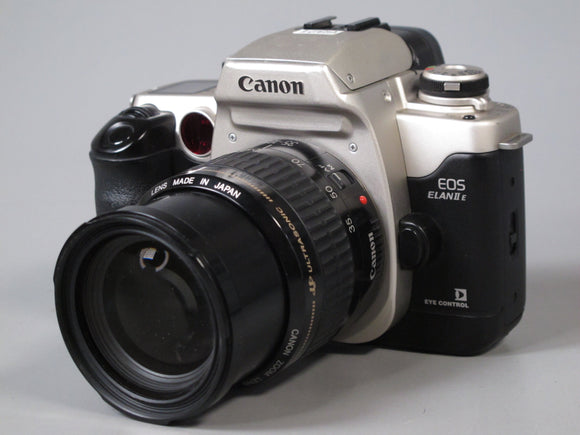 Canon EOS ELAN IIE 35mm Camera with 35-105mm f4.5-5.6 Canon EF Lens
