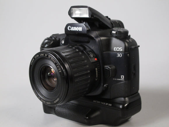 Canon EOS 30 35mm Camera with 35-80mm f4-5.6 Canon EF Zoom Lens