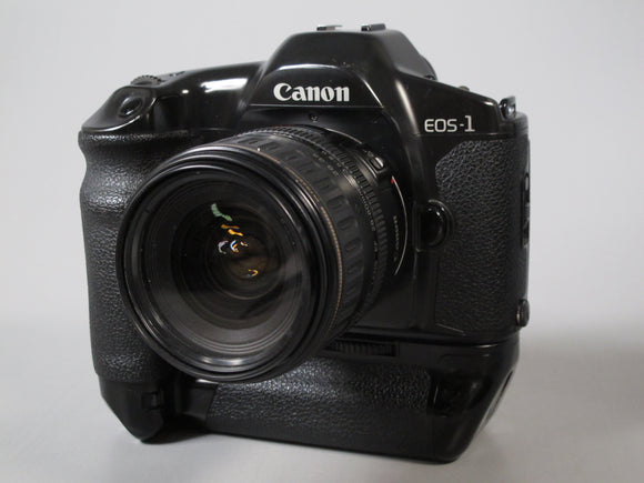 Canon EOS-1 35mm Camera with 28-80mm f3.5-5.6 Canon EF Zoom Lens