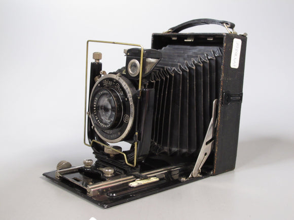 Zeiss IKON Folding Large Format Camera with Carl Zeiss f=13.5cm f4.5 Lens