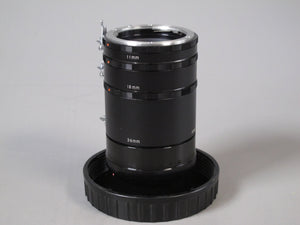 Nikon Set of Extension Tubes for MACRO Photography