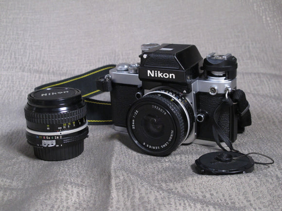 Nikon F2 35mm Camera and Lenses Kit