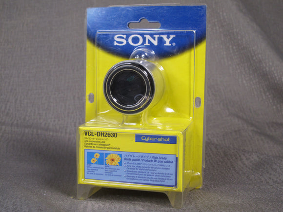 Sony VCL-DH2630 Cyber-Shot Tele-Conversion Lens