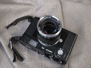 Leica CL 35mm Rangefinder camera with Zeiss Planar 50mm f2 Lens