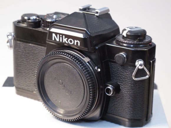 Black Nikon FE 35mm Camera Body