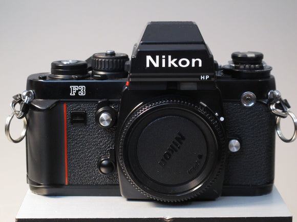 Black Nikon F3 35mm Camera Body