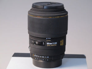 Sigma 105mm f2.8 Macro Lens for Nikon AF Mount