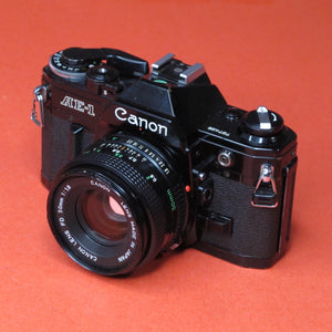 Canon AE-1 with 50mm f1.8 FD Lens