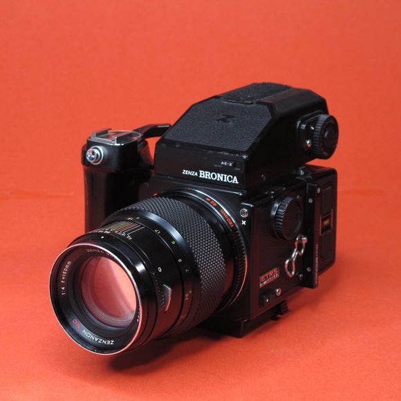 Bronica ETRS Medium Format Camera with 150mm f4 Lens