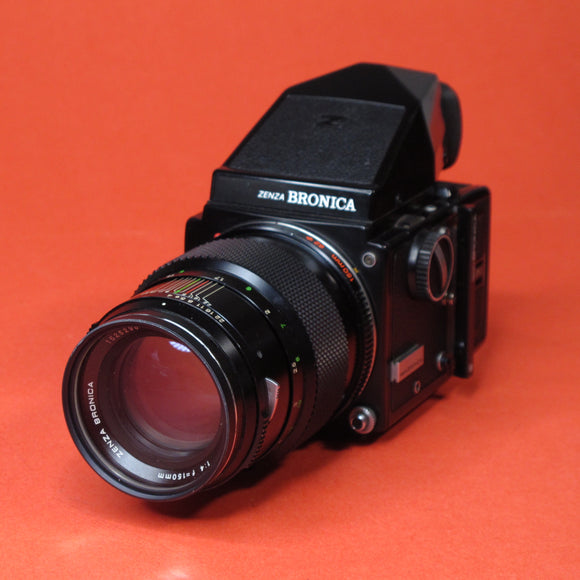 Bronica ETR Medium Format Camera with 150mm f4 Lens