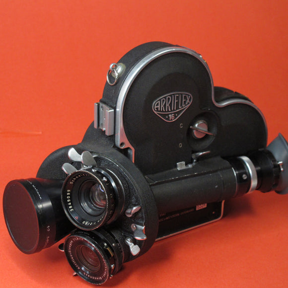 Arriflex 16 S Cine Camera with 3 Lenses