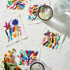 Pass the Salt Otomi Multi-Colored Coasters Hosting Kit