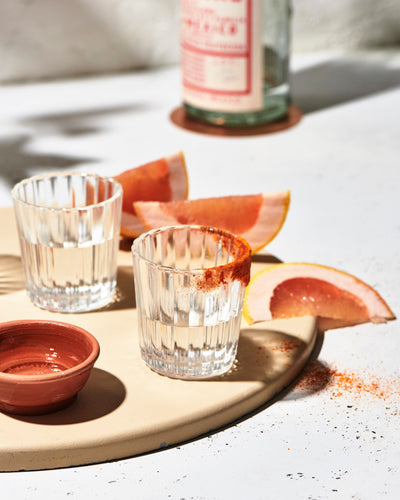 Pass the Salt Vaso Veladora Shot Glasses Hosting Kit