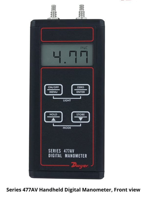 Dwyer Handheld Digital Manometer Series 477AV