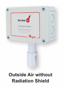 Dwyer Series BTT Temperature Transmitter - Outside Air without Radiation Shield