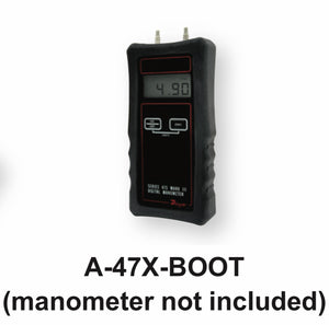 Dwyer Handheld Manometer Accessories A-47X-BOOT