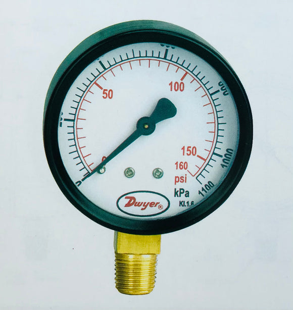Dwyer 63mm Utility Pressure Gauge
