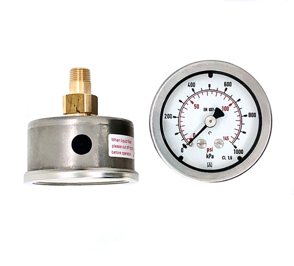 Afriso Heavy Duty 50mm Pressure Gauge