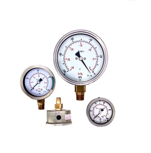 Afriso Heavy Duty 100mm Pressure Gauge