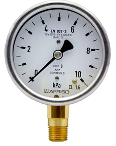 Afriso Low Pressure Gauge for air and gases