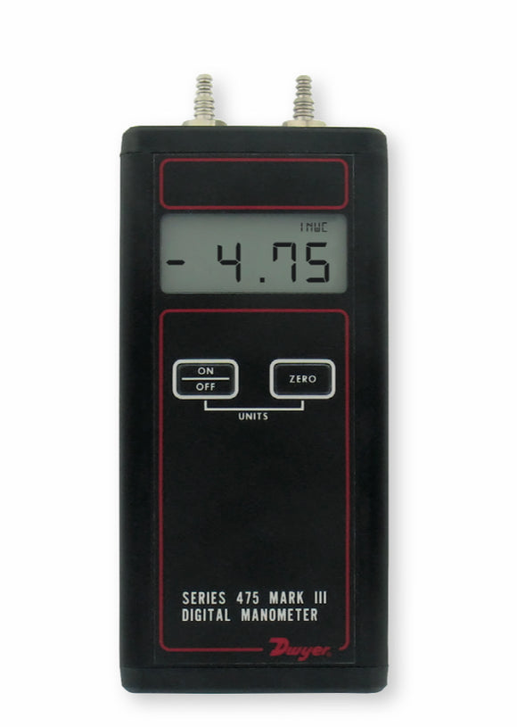 Dwyer Series 475 Handheld Digital Manometer
